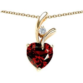 195-cttw-sterling-silver-14k-gold-plated-genuine-heart-shaped-garnet-pendnt