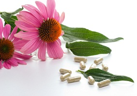 Echinacea capsules and tablets