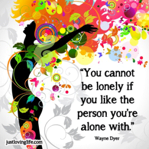 You-cannot-be-lonely-wayne-dyer